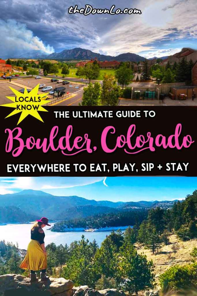 Things to do in Boulder for your Colorado bucket lists. A quick road trip from Denver, the Rocky Mountains or Estes Park, here are the best restaurant options, photography, shopping and outdoor hiking spots in winter and summer with kids or without for free fun and unique, cool things to do in winter, summer, spring or fall. #mountains #usa #america #travel #outdoors #colorado #boulder #co