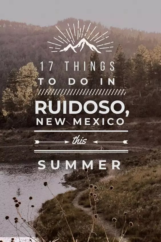 Everything you must do in Ruidoso, New Mexico this summer from cabin rentals to hiking and photography spots. Travel to the national forest for a beautiful summer vacation in America in one of the most underrated US states. #newmexico #usa