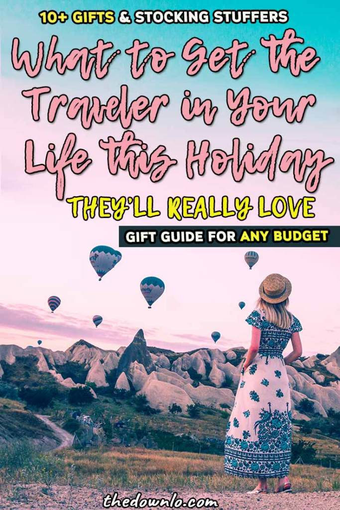 Unique travel gifts and ideas for friends, for her, for women, for men, for couples, for boyfriend and for kids. The best small stocking stuffers and big presents for the international and business traveler in your life for the holidays, Christmas and bon voyage presents. Creative surprises they'll love like experience vouchers, luxury bags, and photography gear. #presentsfortravellers #travelgift #travelgiftguide