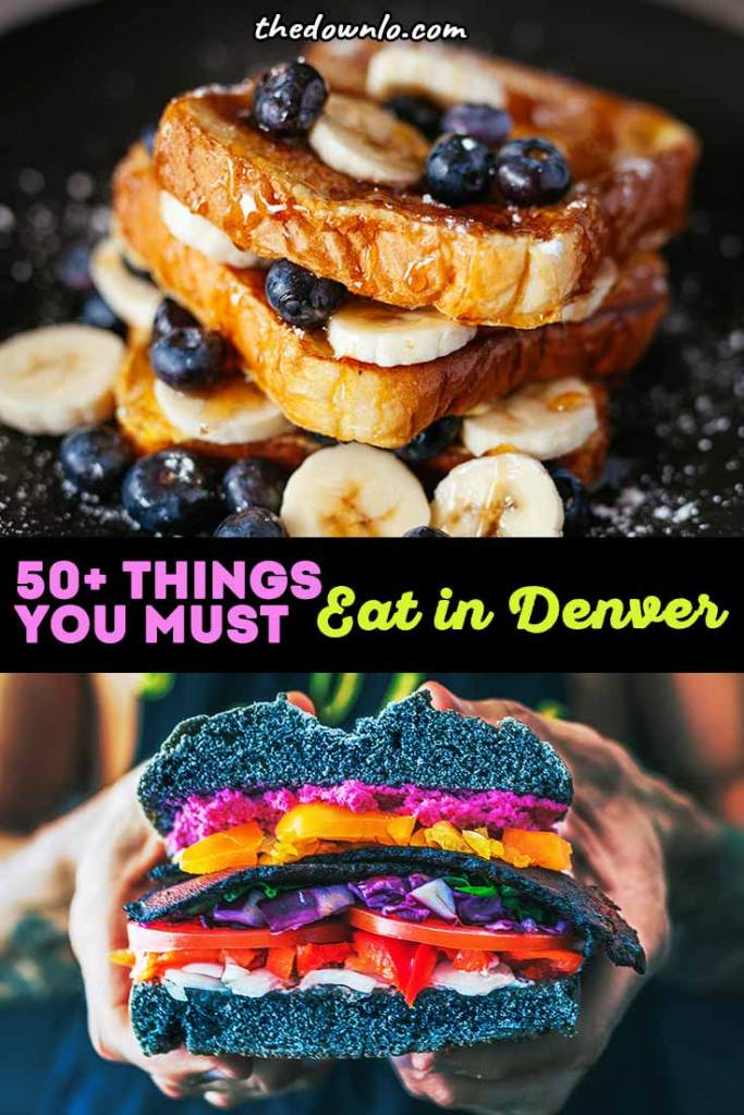The best downtown Denver restaurants you must try. With a view, with kids, for dinner and lunch, this cheap and delicious food is the top of the town. If you're looking for things to do in Colorado and unique photography spots, add eating to your bucket list because this is the ultimate restaurant guide for romantic fun for couples, for stoners, and everyone in between. Plan your weekend dining and meals now. #food #restaurants #denver #colorado #foodie