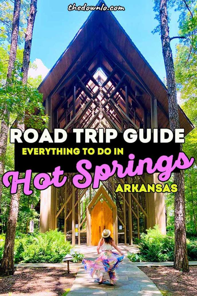 Things to do Hot Springs Arkansas