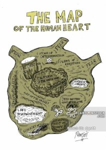 The Map of the Human Heart
