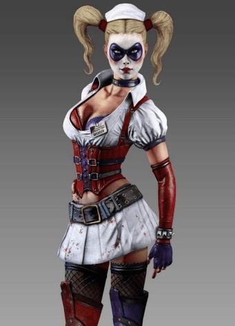 Harley Arkham Asylum2