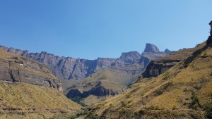 The Amphitheater, Northern Drakensberg. Drakensberg activities - experiences