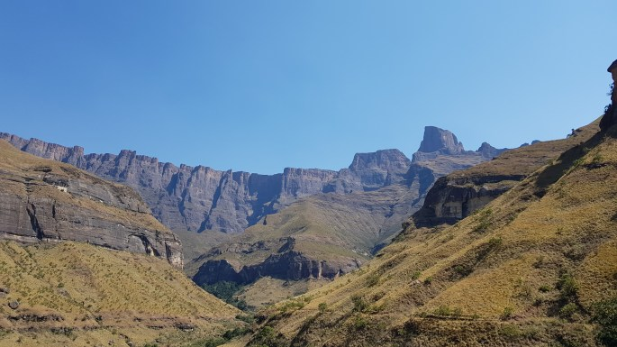 The Amphitheater, Northern Drakensberg.