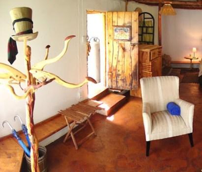 The entrance to Antbear Drakensberg Lodge