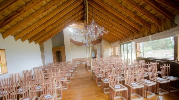The multi purpose chapal or conference venue (Photo: James Seymour)