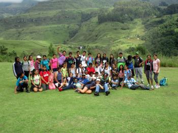 A typical Bergventure Youth Camp (Source: Bergventure)