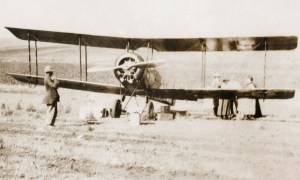 The first plane to land in Bergville