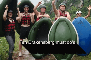 Drakensberg White River Rafting