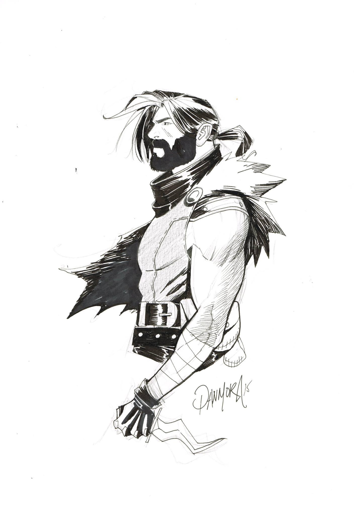 Image result for klaus dan mora heroes sketches