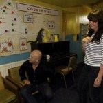 Ross Kemp visits Dreadnought