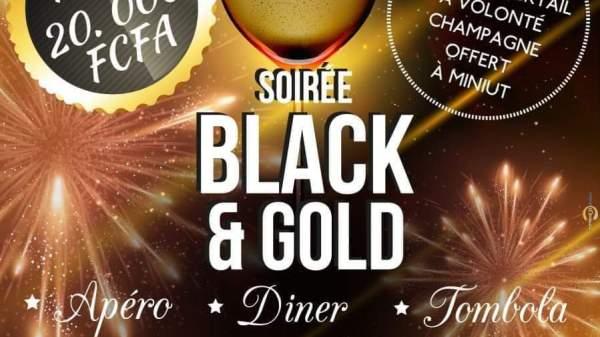 Soirée Black&Gold au Café d' Afrique