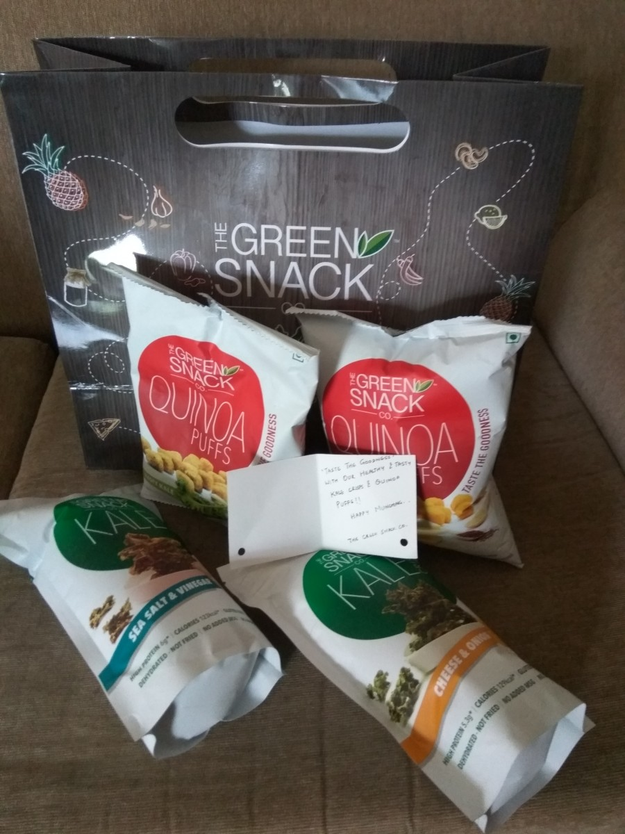 The Green Snack Co. – Product Review