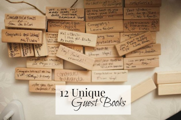 12 Unique Guest Books