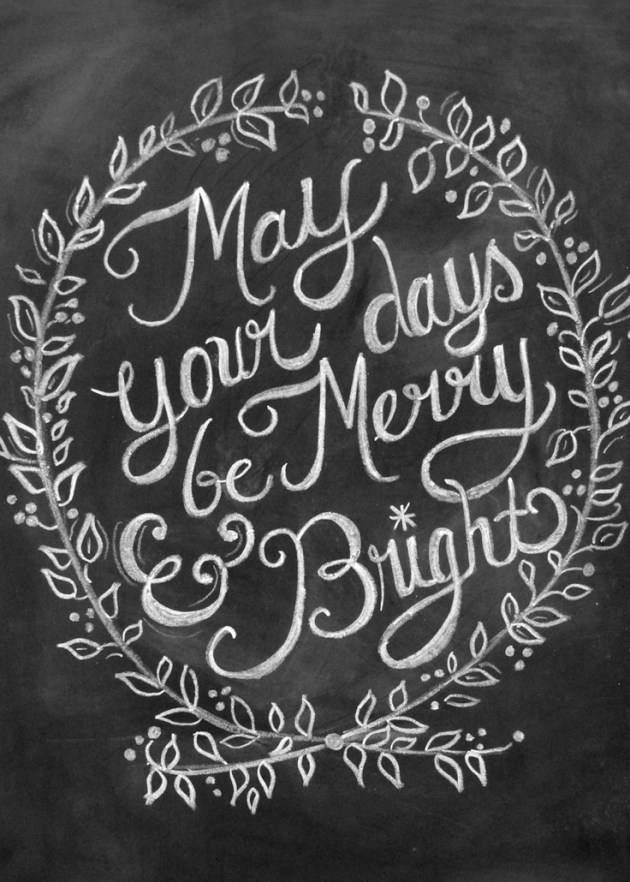 Merry and Bright Christmas Eve