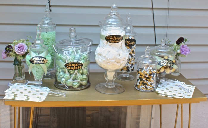 A DIY Gatsby Garden Bridal Shower Brunch