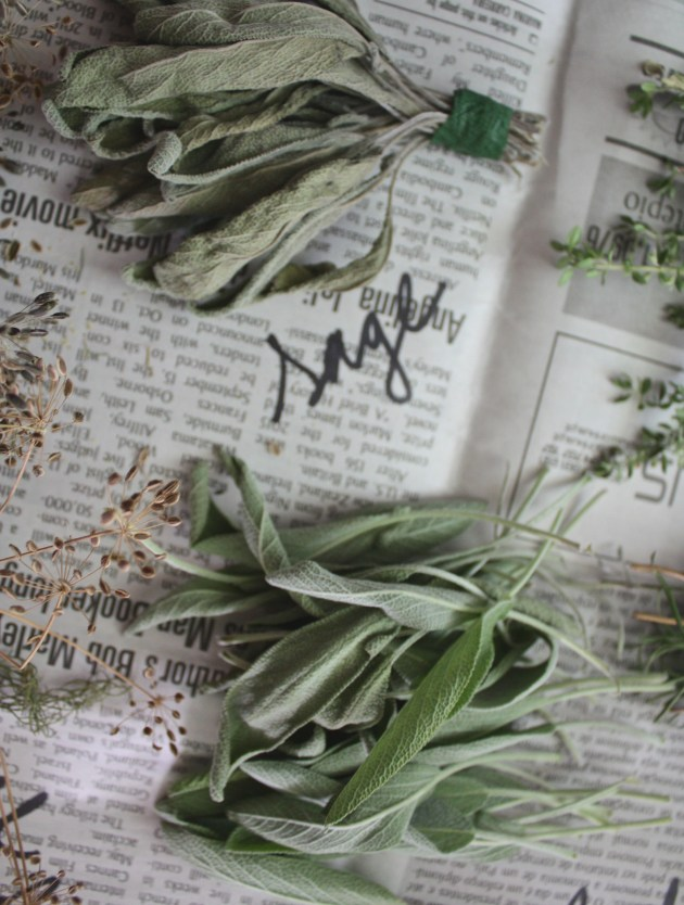 Easy Dried Herb How To