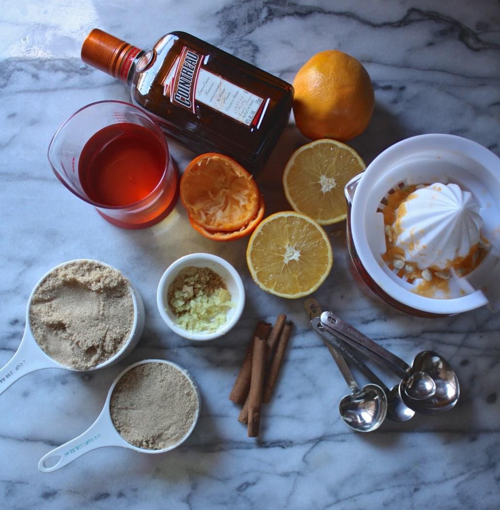 Citrus Ginger Cranberry Sauce