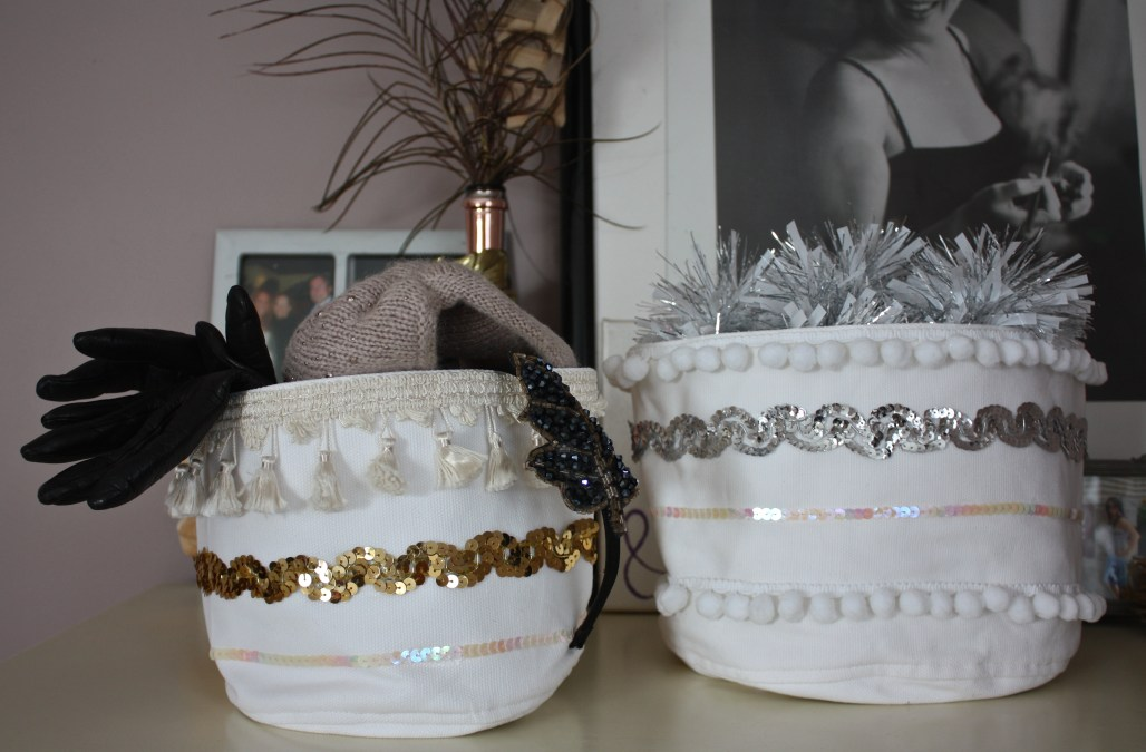 Handmade Holiday: Moroccan Inspired Baskets