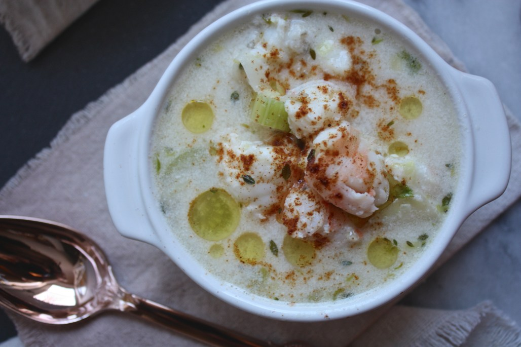 Lobster + Fennel Soup