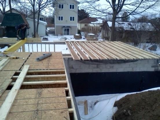 Basement cap (ground floor) coming along