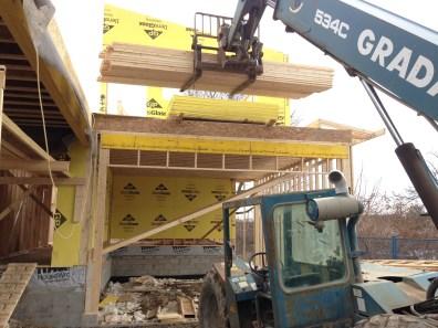 2nd story framing underway