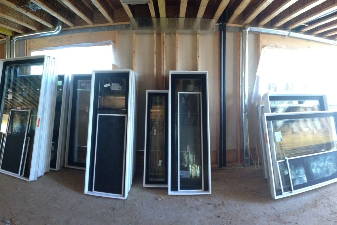 Our windows are here!