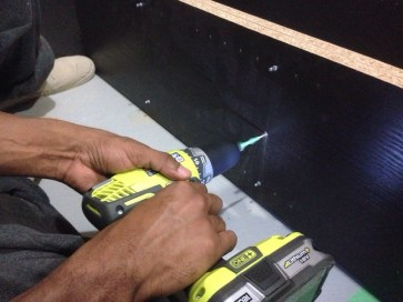 Making pilot holes with the 18V ONE+ Drill