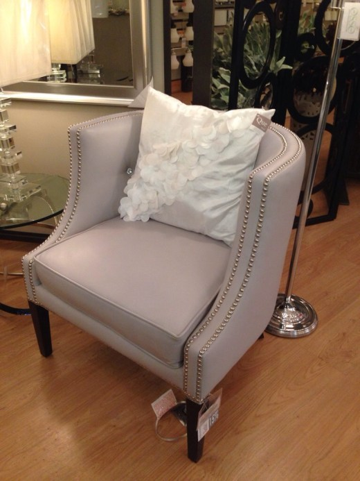 Osso City Lighting studded club chair