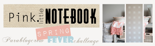 Pink Little Notebook - Spring Fever