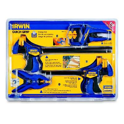 Irwin 8 pc Clamp set
