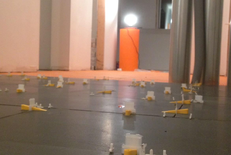 Tile levelling system