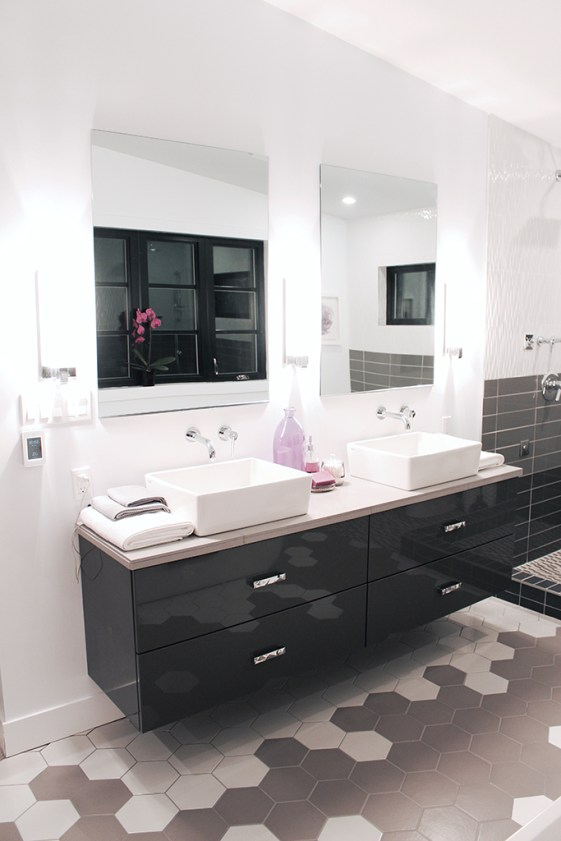 Vanity Wall - Master bath retreat