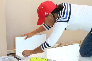 Putting together our IKEA BESTÅ unit