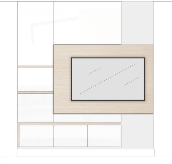 Dreamhouse Project DIY media wall plan