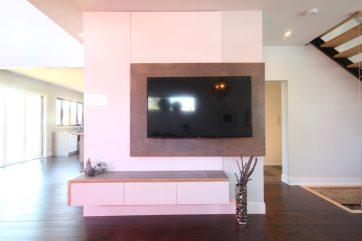 Dreamhouse Project DIY media wall