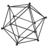 Decorative geometric ball