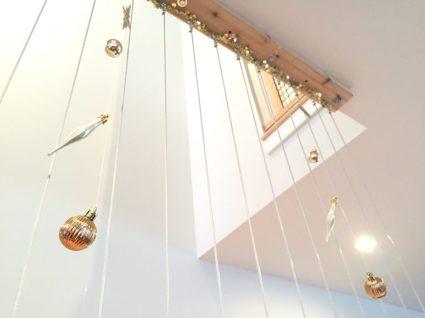 diy ornament string garland