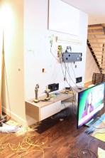 Dreamhouse Project - In wall speaker install in progress