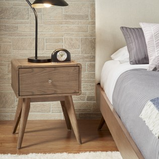 Corrigan Studio Grant 1 Drawer Nightstand