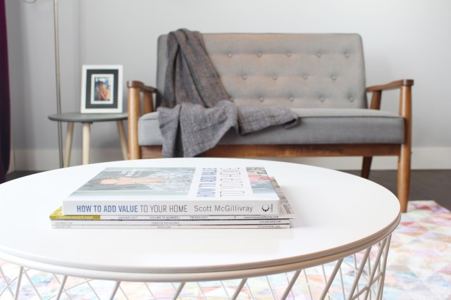 Close up of coffee table details | Dream Bedroom Reveal - The Dreamhouse Project