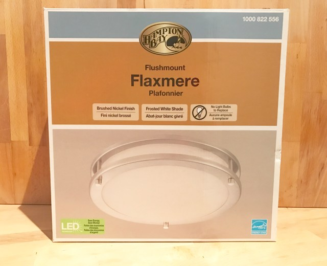Hampton Bay LED Flush mount light fixture