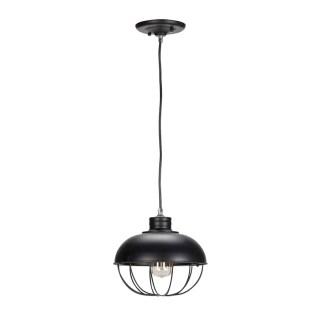 Demi Vintage Edison 1-Light Globe Pendant