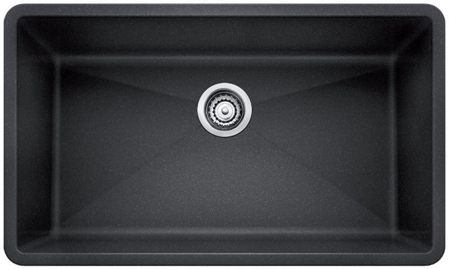 BLANCO PRECIS sink in Anthracite