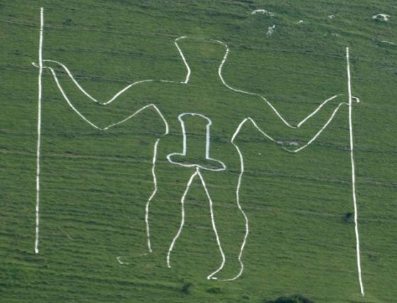 The Long Man of Wilmington + Penis