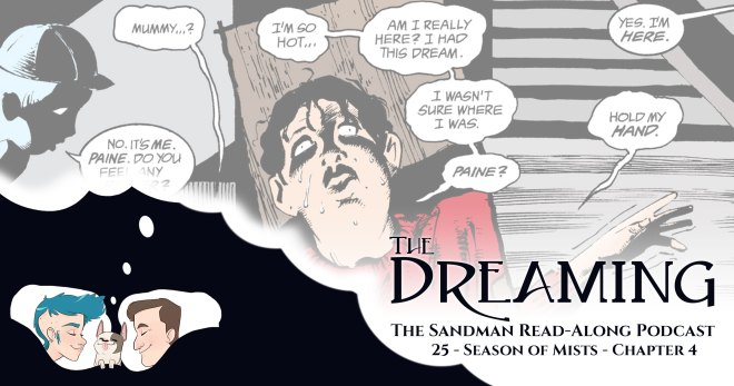 The Dreaming 25 - The Sandman 25 - Season of Mists: Chapter 4