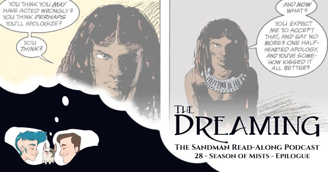 The Dreaming 28 - Title card