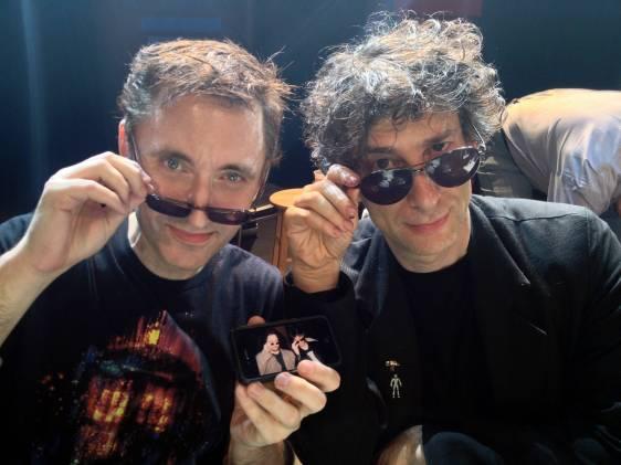 Joe Fulgham & Neil Gaiman, 2013
