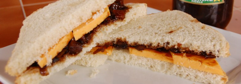 cheese-and-pickle-sandwich